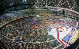 'Soi' kiến trúc sân vận động diễn ra lễ ra khai mạc SEA Games 30