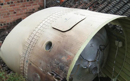 Trung Quốc: Động cơ tên lửa du hành vũ trụ rơi xuống đất san phẳng nhà dân
