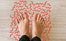 Cẩn thận với 4 dấu hiệu ở chân cảnh báo căn bệnh dễ gây đột tử rất nhanh