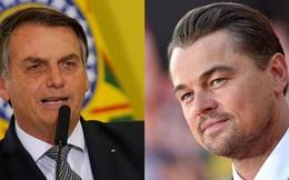 """Vô duyên vô cớ bị """"đổ thừa"""" đốt rừng Amazon, tài tử Leonardo DiCaprio phản ứng mạnh mẽ đáp lại Tổng thống Brazil"""