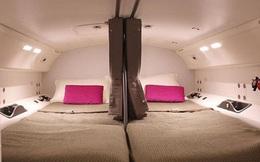 Hoá ra trên máy bay có phòng ngủ riêng cho phi công và tiếp viên: phải đi vào bằng lối bí mật, độ rộng - hẹp thì còn tuỳ