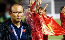 """Để vô địch SEA Games, thầy trò HLV Park Hang-seo phải tránh """"dẫm vết"""" đội tuyển nữ"""