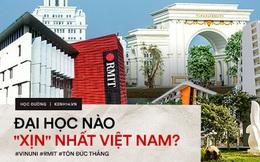Top trường Đại học sang chảnh, kiến trúc đẳng cấp, học phí trăm triệu đến vài tỷ dành cho hội nhà giàu ở Việt Nam