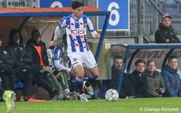 Đoàn Văn Hậu lần đầu ra sân cho SC Heerenveen: 'Sẽ ghi nhớ suốt đời'