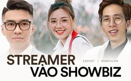 ViruSs, PewPew và nhiều cái tên nổi bật của làng streamer Việt lấn sân vào showbiz