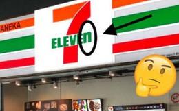 """Tại sao logo của thương hiệu lớn như 7-Eleven lại có """"lỗi đánh máy"""" cơ bản như thế này?"""
