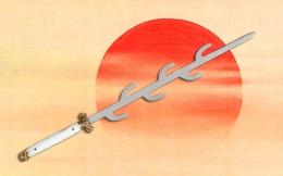 Giải mã bí ẩn ngàn năm về thanh kiếm 7 nhánh huyền thoại của Nhật Bản