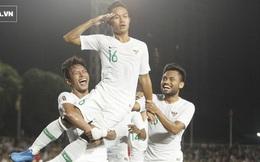 """U22 Indonesia được đề cử là Đội tuyển hay nhất năm 2019 vì """"đá cho Việt Nam phải run sợ"""""""