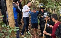 Đã bắt được nghi phạm chém 5 người tử vong ở Thái Nguyên khi đang trốn trong rừng