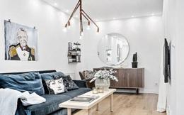 Căn hộ 39m² cực sang chảnh mặc cho diện tích bé tí tẹo nhờ sử dụng chất liệu nhung cho đồ nội thất