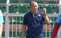 """Thầy Park lại nổi nóng, cầu thủ U23 Việt Nam """"xanh mặt"""""""