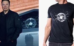Bộ óc kinh doanh thiên tài của Elon Musk: Tesla giờ bán áo thun in hình cửa kính Cybertruck vỡ với giá 45 USD/chiếc