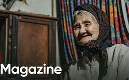 """Mấy ai yêu đời được như cụ bà quyết tâm xin thoát nghèo""""Xuân xanh cũng đến 85, nếu bà trang điểm thì trăng rằm thua xa"""""""