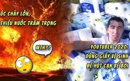 Thử nghiệm hút cạn nước bể bơi bằng 100.000 cuộn giấy vệ sinh, anh YouTuber bị cộng đồng mạng ném đá không thương tiếc
