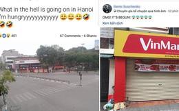 """Anh Tây hốt hoảng khi thấy hàng quán Hà Nội đồng loạt đóng cửa: """"Trời đất, lại đến cái ngày ấy rồi!"""""""