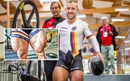 Anh chàng VĐV xe đạp khiến dân mạng sốc nặng khi khoe cơ đùi to khủng khiếp trên MXH, khỏe đến mức đạp đứt luôn cả xích