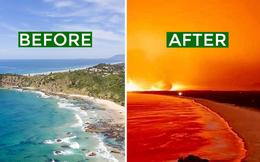 Nền du lịch Úc thiệt hại nặng nề vì thảm hoạ cháy rừng, loạt ảnh Before/After càng khiến cả thế giới xót xa hơn