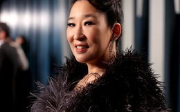 Sandra Oh, niềm kiêu hãnh của điện ảnh châu Á tại Hollywood, lộng lẫy trong thiết kế của nhà mốt Công Trí