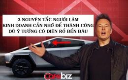 'Trò hề' Cybertruck vỡ kính hay chiến lược marketing 'ăn tiền' của Elon Musk: 3 nguyên tắc người làm kinh doanh cần nhớ để thành công dù ý tưởng có điên rồ đến đâu