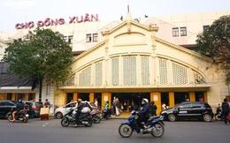 'Đói' hàng, vắng khách, tiểu thương chợ Đồng Xuân chỉ bán hàng nửa buổi