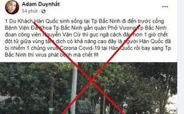 Người đàn ông Hàn Quốc tử vong tại Bắc Ninh âm tính với virus Covid-19