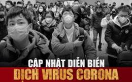 Infographic: Cập nhật liên tục diễn biến dịch corona trên toàn cầu