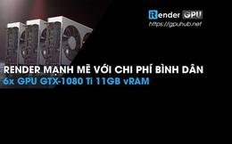 Nhanh như GPUHUB của Irender - tăng tốc độ Render của họa sĩ 3D gấp 40 lần trên máy tính cá nhân