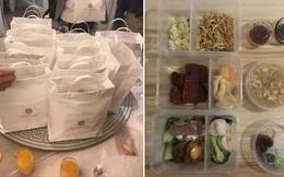 Ăn cưới mùa Covid-19: Chỉ được uống nước, cỗ bàn chia đều từng người rồi cho vào hộp nhựa để mang về thưởng thức!