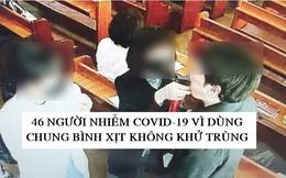 Nhà thờ Hàn Quốc xịt nước muối vào miệng tín đồ để diệt virus corona, kết quả là lây Covid-19 cho 46 người vì dùng chung bình xịt và không khử trùng
