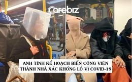 Cảnh tượng tưởng chỉ có ở Trung Quốc giờ đã xuất hiện tại Anh: Người dân chế đủ thứ, từ hộp nhựa, túi đựng đồ đến... áo mưa để làm khẩu trang