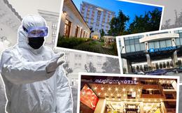 Danh sách các địa điểm, khách sạn trên cả nước hiện đang được phong tỏa hoặc phun khử khuẩn để đề phòng lây nhiễm Covid-19