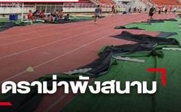 AFC nổi giận với chủ nhà Thái Lan: Lớp cỏ của SVĐ tổ chức U23 châu Á bị bóc trần để... tuyển điền kinh tập luyện