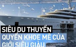 """Đột nhập vào """"siêu du thuyền"""" của các """"siêu đại gia"""" đình đám thế giới: Dài cả trăm mét, có cả sân bay lẫn kính chắn bom, nhưng để làm gì?"""