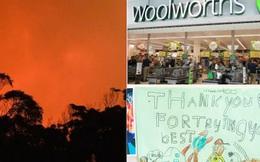 """Những khoảnh khắc xúc động đến """"cay mắt"""" giữa thảm họa cháy rừng nước Úc: Trong hoạn nạn, tình người mới thật ấm áp biết bao!"""