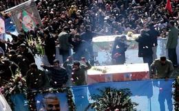 Iran hoãn chôn tướng Soleimani vì vụ giẫm đạp kinh hoàng trong tang lễ làm hơn 250 người thương vong