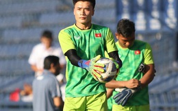 [VCK U23 châu Á] Việt Nam vs UAE: Thủ môn Bùi Tiến Dũng bắt chính, Đình Trọng và Quang Hải trở lại sau chấn thương