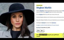 """Vừa trốn về Canada, cái tên """"Meghan Markle"""" đã biến thành từ lóng với ý nghĩa """"qua cầu rút ván"""""""