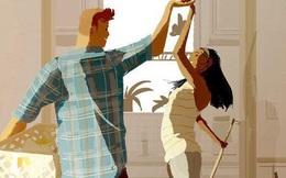 """Đàn ông rung đùi uống trà ngày Tết trong khi vợ cắm mặt dọn dẹp nhà cửa: Nói """"em nghỉ đi để anh làm nhé"""" có khó đến vậy không?"""