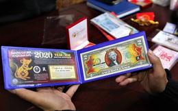 Độc đáo tiền lì xì in hình chuột hút khách trước dịp Tết Nguyên đán Canh Tý