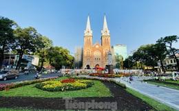 Đường phố Sài Gòn thông thoáng ngày đầu nghỉ Tết Nguyên đán 2020
