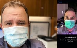 Virus Corona khiến Face ID trở nên vô dụng