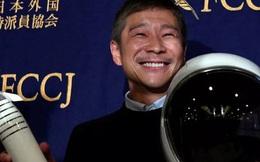 """Tuyển bạn gái đi du lịch vòng quanh Mặt trăng cùng mình, tỉ phú Nhật Bản bất ngờ """"lật kèo"""" khi nhận được gần 30.000 đơn đăng ký"""