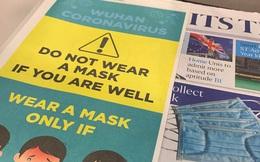 Tờ báo lớn nhất Singapore khuyến cáo không đeo khẩu trang nếu bạn cảm thấy khỏe, rửa tay bằng xà phòng là cách tốt hơn