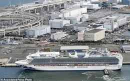 Số ca nhiễm virus corona trên du thuyền bị cách ly ở Nhật Bản tăng gấp 6 lần