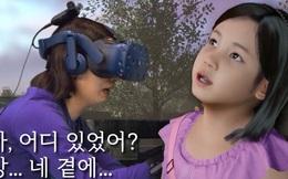 Mẹ gặp lại con gái đã mất bằng công nghệ VR lấy nhiều nước mắt của khán giả