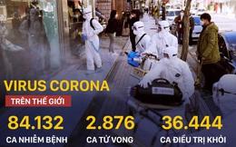 COVID-19: Hàng loạt nước có ca nhiễm đầu tiên, Hàn Quốc, Nhật Bản diễn biến phức tạp