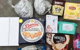 Cận cảnh hộp quà Apple gửi nhân viên đang cách ly tại Trung Quốc: iPad, khẩu trang, trà Lipton, Nescafe và bánh quy Danisa