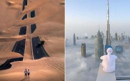"""Loạt ảnh chụp từ trên cao chứng minh Dubai là """"vùng đất đến từ hành tinh khác"""", thật hiếm nơi nào trên thế giới sánh bằng"""