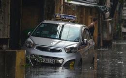 Hà Nội: Nhiều tuyến đường ngập nghiêm trọng, cây xanh đổ la liệt sau cơn mưa như trút nước