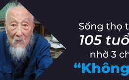 """Làm thế nào để sống lâu hơn: Hãy tham khảo bí quyết """"3 không"""" của họa sĩ 105 tuổi"""
